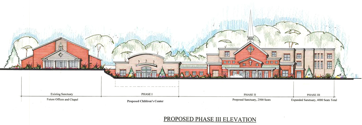 CFC - Phase III Elevation Rendering