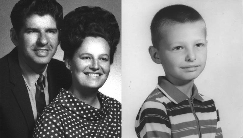 Big Tom, Janice, and Tommy Bates